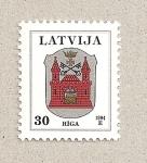 Stamps Latvia -  Escudo de Riga