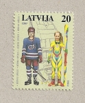 Stamps Latvia -  Actividades infantiles