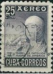 Stamps Cuba -  Isabella