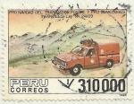 Stamps Peru -  PRO - NAVIDAD DEL TRABAJADOR POSTAL Y PRO - COMEDORES INFANTILES