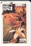 Sellos del Mundo : Asia : Omán : Mariposas - Gatekeeper