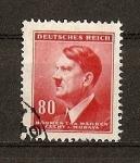 Sellos de Europa - Alemania -  Efigie de Hitler./ Offset.
