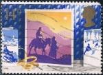 Sellos de Europa - Reino Unido -  NAVIDAD 1988. TARJETAS DE NAVIDAD. VIAJE A BELÉN. M 1180