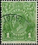 Stamps Australia -  Georges V
