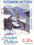Stamps Andorra -  Pueblo de Encamp -Patrimoni Natural