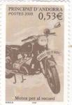 Stamps Andorra -  Motos per al record