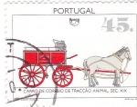 Stamps Portugal -  Carro de Correos tracción animal siglo XIX
