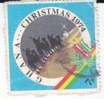 Sellos de Africa - Ghana -  CHRISTMAS 1974