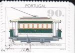 Sellos de Europa - Portugal -  Tranvía-1895  museo do Carro Electrico-Porto