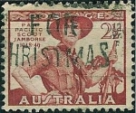 Sellos de Oceania - Australia -  Jamboree