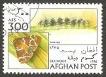 Sellos de Asia - Afganistán -  Mariposa
