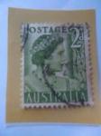 Stamps Australia -  Reina  Isabel
