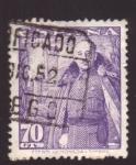 Stamps Spain -  frncisco franco