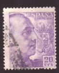 Sellos de Europa - España -  frncisco franco