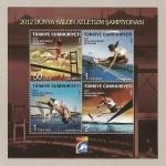 Stamps Turkey -  Competiciones atrléticas