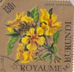 Stamps Burundi -  Flores