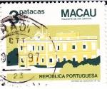 Stamps Macau -  Palacete de Santa Sancha