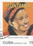 Stamps Cuba -  CENTENARIO DEL CINE  - Rita Montaner