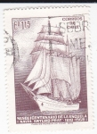 Sellos de America - Chile -  Sesquicentenario de la escuela Naval Artuto Prat 1818-1968