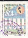 Stamps Paraguay -  50 años Instituto Interamericano de Cooperación para la Agricultura 1942-1992
