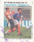 Sellos de America - Paraguay -  Copa América-Paraguay 99