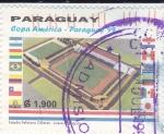 Stamps Paraguay -  Copa América-Paraguay 99