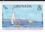 Sellos de America - Granada -  Regata Carriacou agosto 1973