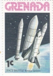 Stamps Grenada -  Aeronautica