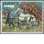 Stamps France -  YVES BRAYER