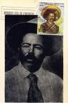 Sellos de America - México -  Tarjeta máxima de México.-primer día Francisco Villa Centenario de su natalicio 1878-1978