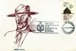 Sellos de America - México -  Tarjeta Máxima de México.-primer día.-50 aniv. reconociniento asoc. de scouts de México