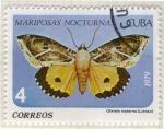Sellos del Mundo : America : Cuba : Mariposa nocturnas