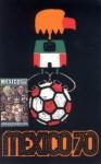 Sellos de America - México -  Tarjeta Máxima de México-Primer día.-Campeonato mundial de futbol copa jules rimet