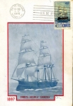 Sellos de America - México -  Tarjeta Máxima de México.-primer día.- 75 aniversario de la escuela naval de Veracruz