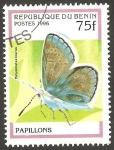 Stamps : Africa : Benin :  Mariposa