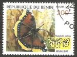 Sellos de Africa - Benin -  Mariposa