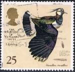 Sellos de Europa - Reino Unido -  AVES DE CAZA DE HUMEDALES PINTADAS POR CHARLES TUNNICLIFFE. AVEFRIA EUROPEA. M 1616