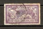 Sellos del Mundo : Europa : Francia :  Merson.- Color Central Desplazado.