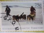 Sellos de Oceania - Australia -  Australian Antarctic Territory . -The Last Huskiesl