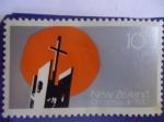 Stamps Australia -  New Zealand-Christmas 1970