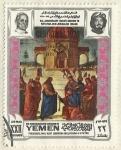 Stamps Yemen -  NAVIDAD 1970