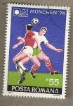 Stamps Romania -  Futbol Munich 1974