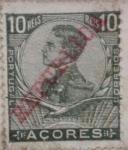 Sellos de Europa - Portugal -  acores portugal 1912