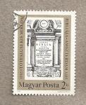Stamps Hungary -  300 Aniv de la Biblia de Totfalusi