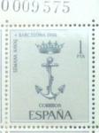 Sellos de Europa - España -  Semana naval en Barcelona.