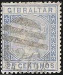 Stamps Europe - Gibraltar -  Queen Victoria