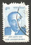 Stamps : Asia : India :  2126 - Homi Jahangir Bhabha, fisico nuclear