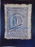 Stamps Colombia -  República de Colombia : Diez Centavos.(Provicional)