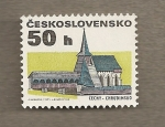 Stamps Czechoslovakia -  Construcciones rurales