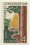 Stamps : America : United_States :  CONSERVACION DE LOS BOSQUES
